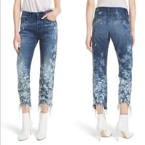 3x1 Higher Ground Crop Jeans High-Rise Boyfriend